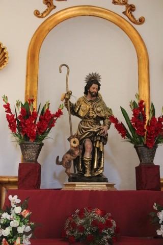San Roque en la iglesia de San Miguel