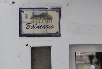 Calle balneario
