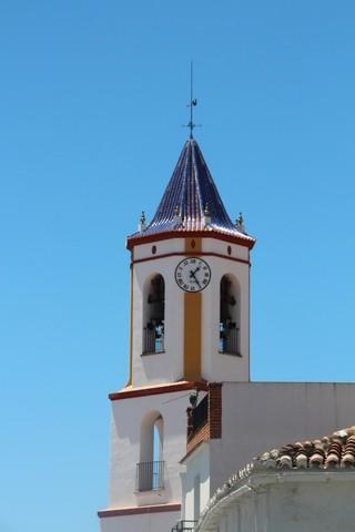 Campanario de la iglesia de la Concepción de Yunquera