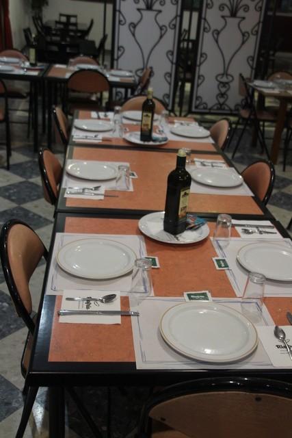 Comedor del Caserío de Aguadulce.