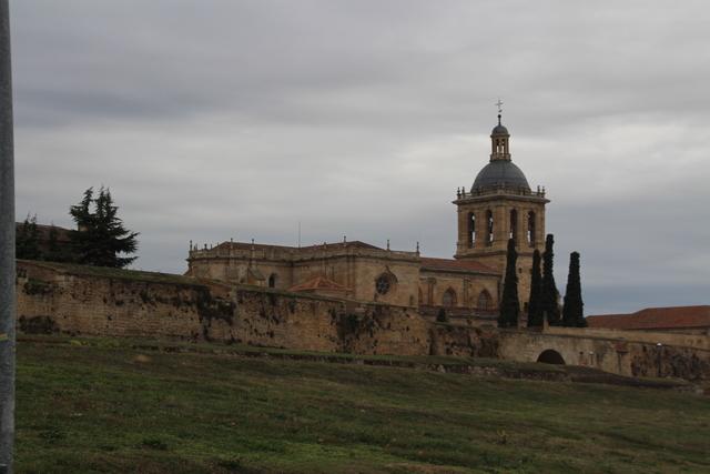 Catedral de Ciudad Rodrigo, cuando llegamos que estaba nublado.