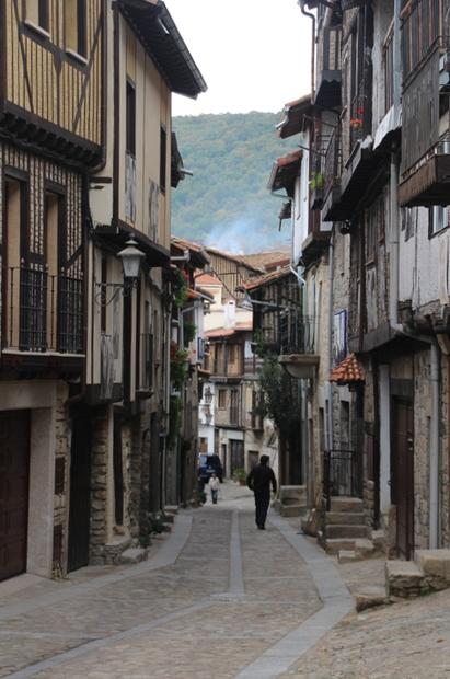 Una calle vista desde la ermita del humilladero.