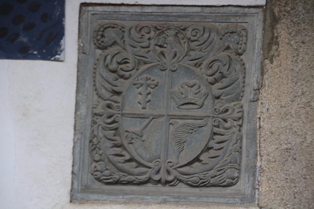 Escudo de la Inquisición.