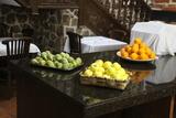 Las frutas esperaban su turno.