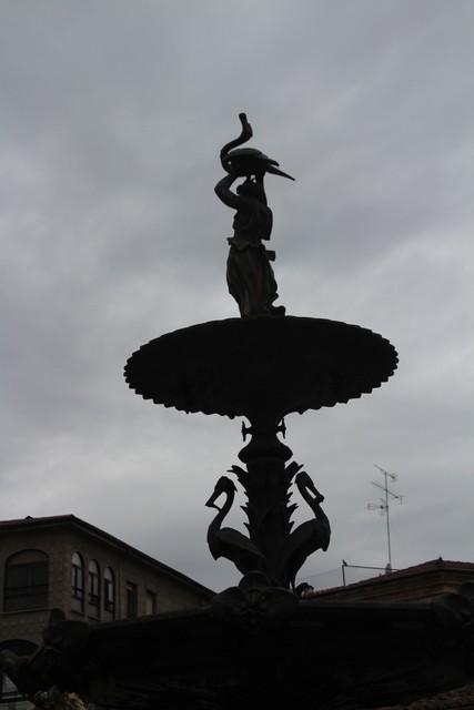 Fuente de la plaza del Buen Alcalde.