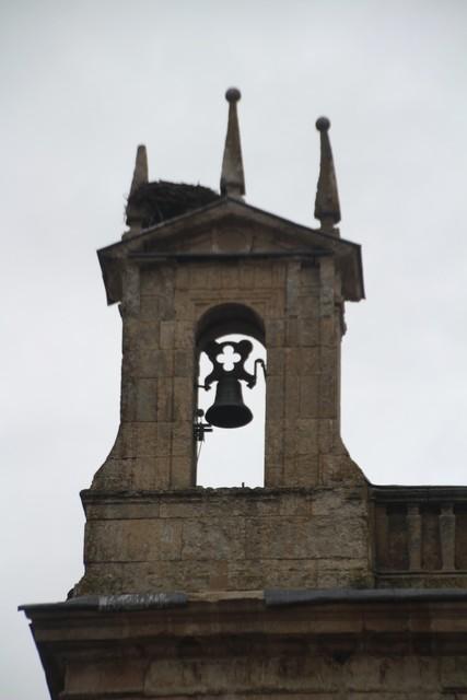 Detalle del campanario de la capilla de Cerralbo.