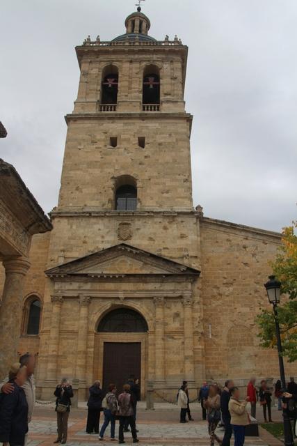 Iglesia de Santa María. Puerta del perdón o de la gloria.