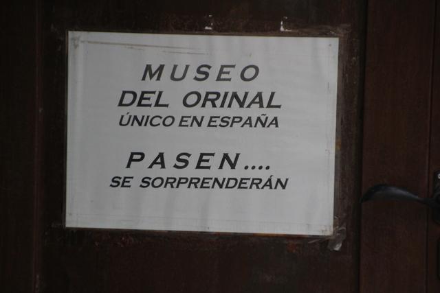 En Ciudad Rodrigo está el único museo del orinal de España.