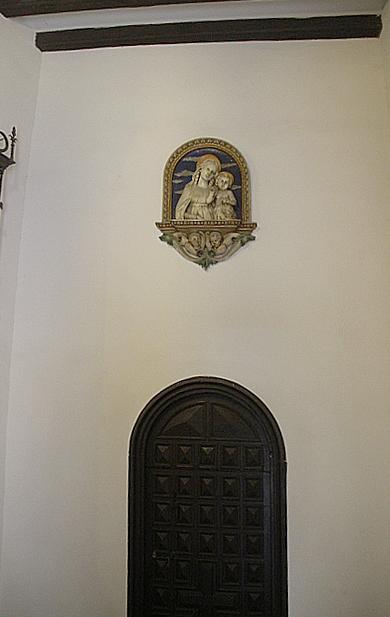 Un detalle del interior del edificio.
