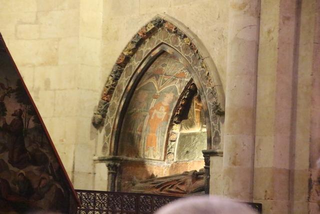 Entrada a una de las capillas: ¿San Bartolomé?