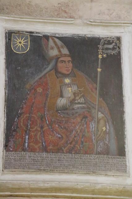 Retrato del obispo Juan Lucero.