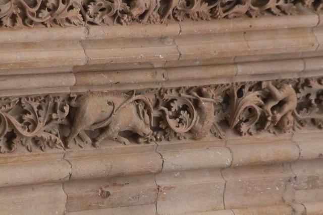 Detalle fachada Catedral Nueva Salamanca.