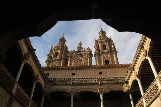 Universidad Pontificia de Salamanca desde la Casa de las Conchas.
