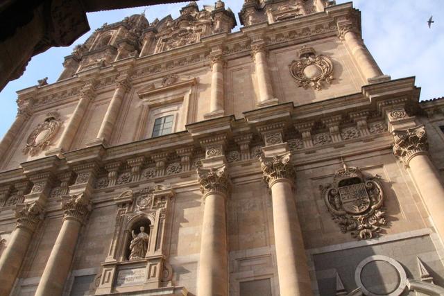 Fachada de la universidad Pontificia.