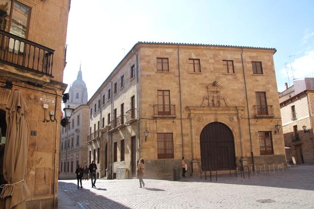 Aulario de launiversidad de Salamanca,