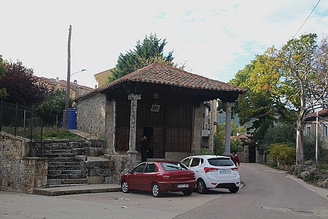 Ermita delhumilladero de La Alberca.