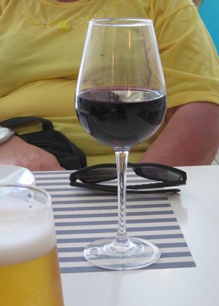 El vino siciliano de la oferta.