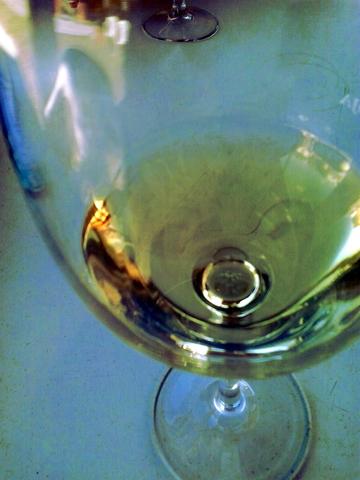 Se me olvidó sacar la foto hasta que casi había acabado la copa, pero aquí está el último trago.