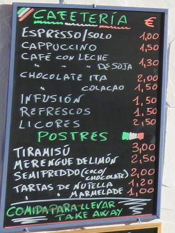 Algunos precios