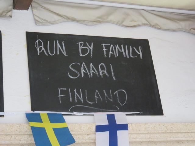 Llevado adelante por la familia Saari
