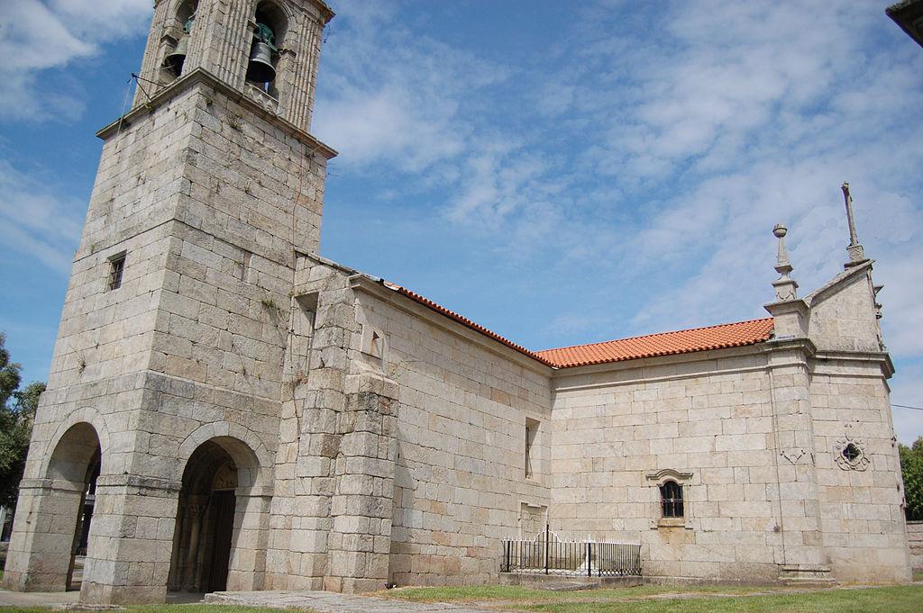 Iglesia de Santa María en Caldas de Rey. Gentileza Wiki.