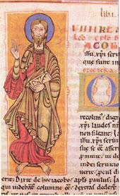 Codex Calistinus guardado en la catedral de Santiago de Comnpostela