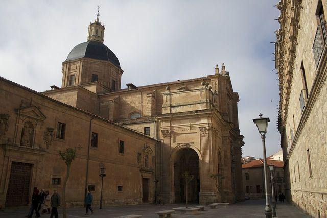 Convento de las agustinas e iglesia parroquial de la Purísima. Gentileza de Wikipedia. De Luis Villa del Campo - Flickr: Salamanca, CC BY 2.0, https://commons.wikimedia.org/w/index.php?curid=17240391