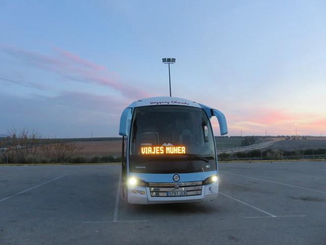 Nuestro autobús.