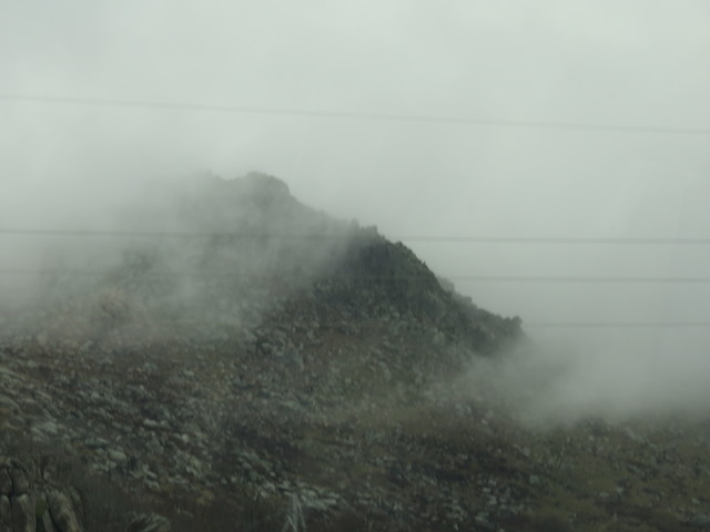 Niebla en la Sierra de Béjar.