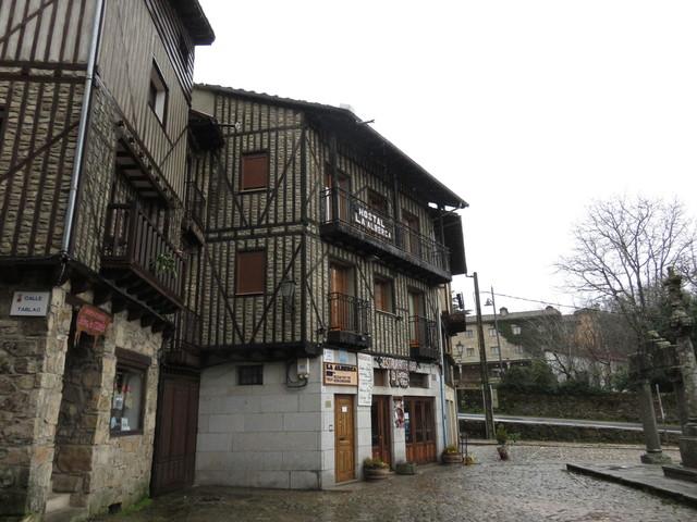 Arquitectura típica de La Alberca.