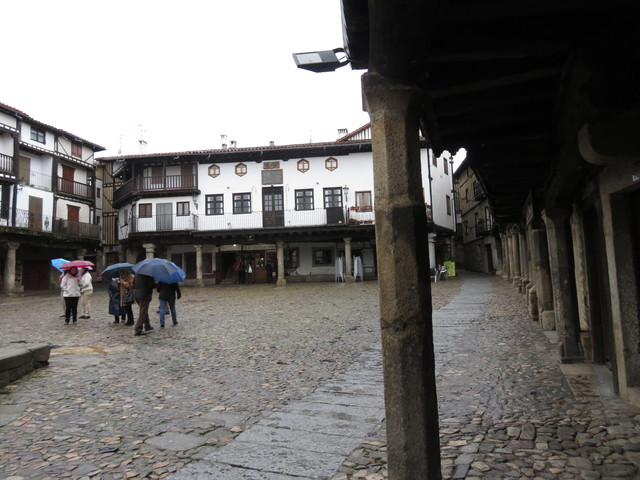 Plaza Mayor de La Alberca.