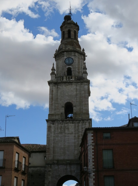 Arco o Torre del Reloj. Toro (Zamora). Del siglo XVIII.