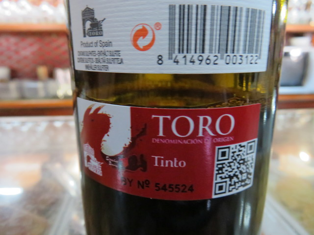 """Vino """"Marques de Peñamonte"""" con denominación de Origen Toro."""