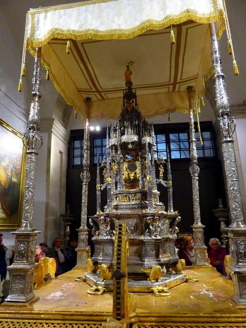 Custodia procesional de la catedral de Zamora.