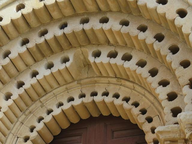 Detalle de la Puerta del Obispo.