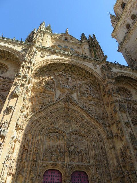 Fachada universidad de Salamanca.