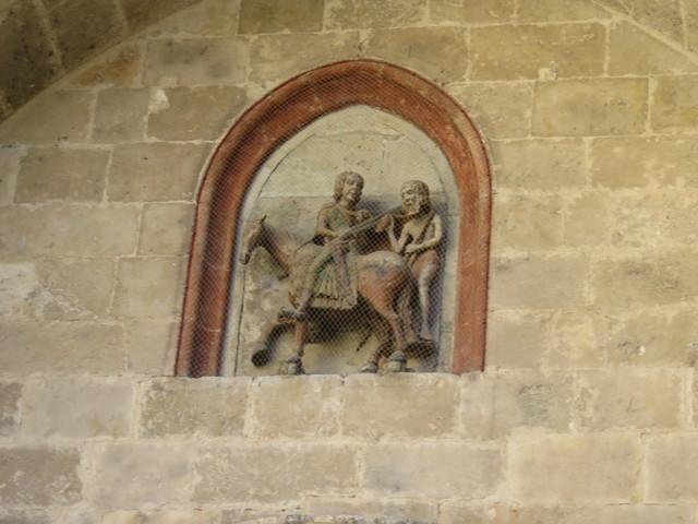 San Martín de Tours en la iglesias de San Martín.