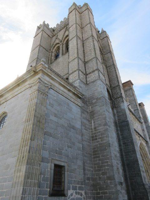 Caredral gótica de Ávila.
