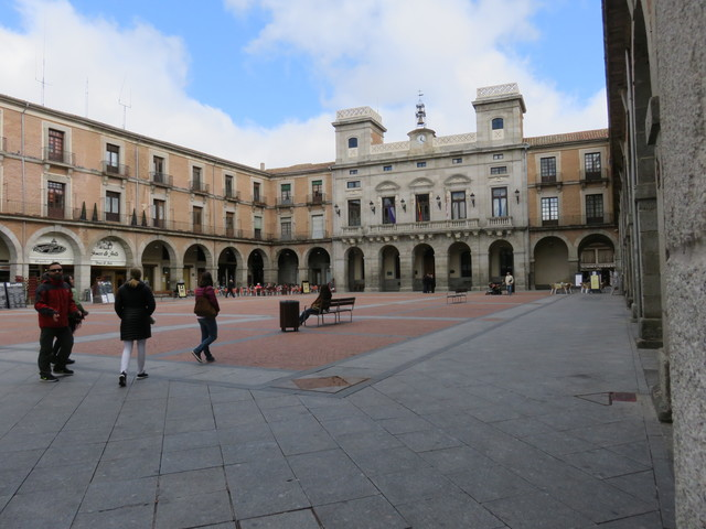Plaza mayor de Ávila.