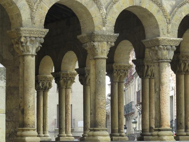 Detalle de la Iglesia de San Martín.