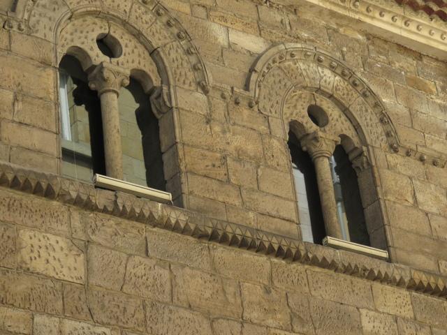 Detalle del Palacio de Valdecarzana