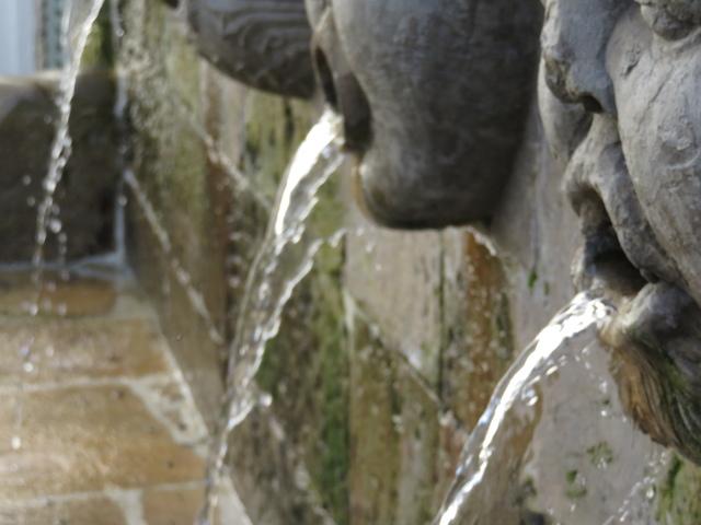 Fuente de los caños del siglo XVI.