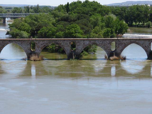 Puente sobre el río Duero.