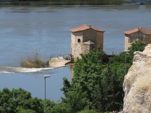 Molinos de harina en el río Duero.