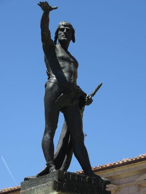 El personaje más importante de Zamora, probablemente sea Viriato