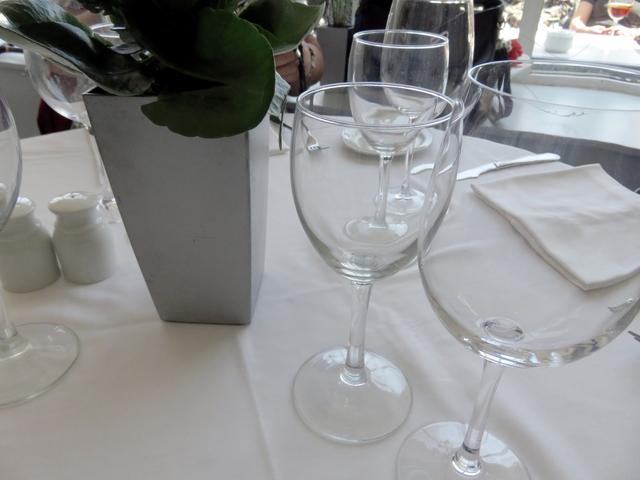 Detalle de la mesa.
