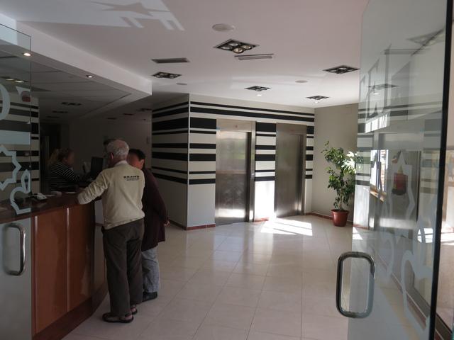 Recepción.Hotel Isabel Segura, Teruel