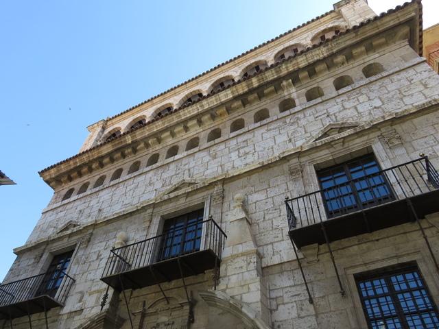 Fachada del museo provincial.