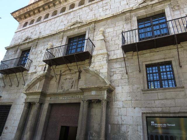 Fachada del museo provincial de Teruek