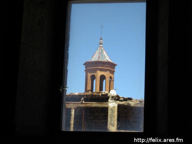 La Catedral vista desde una ventana del Museo